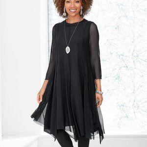 Cynthia Ashby Calliope Mesh Dress Artful Home